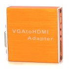 Analog VGA zu HDMI Video / Audio-Adapter w / Micro-USB / 3,5 mm - Golden