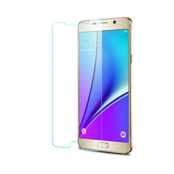 Protective Tempered Glass Screen Protector for Samsung Galaxy Note 4 - Transparent