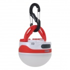 GLAREE C2 180lm LED-Cool White Light Portable Waterproof Outdoor Camping Lantern Lamp - Red