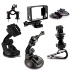 PANNOVO Professional Car Set Kit For Gopro Hero 2/3/3+/4
