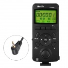 "Meyin TW-836 /L1 1.6"" LED 2.4GHz 16-Channel Wired Timer Remote Control for DMC - Black (2 x AAA)"