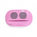 CKY BC145 Mini Wireless Bluetooth V3.0 Docking Speaker w/ USB - Pink