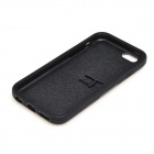 "2-in-1 Protective Silicone + PC Back Case w/ Stand for IPHONE 6 4.7"" - Black"