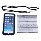 IPEGA PG-i6001 Waterproof Protective PC Full Body Case for IPHONE 6 - Black + White