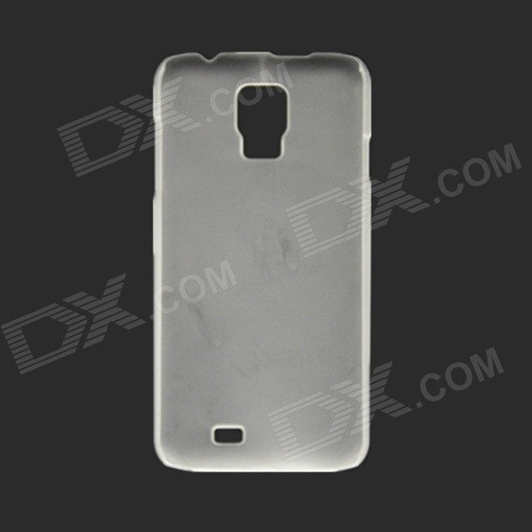 Protective PVC Plastic Back Case for DOOGEE DG310 - Transparent