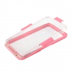 Water-resistant Drop-resistant Protective Plastic + Silicone Full Body Case for IPHONE 6 PLUS - Pink