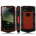 "S60 Водонепроницаемый Dual Core Android 4.2 3G смартфон ж / 4,0 "", 2 Гб ROM, Walkie Talkie, GPS, NFC, SOS"