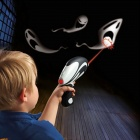 NEJE Ghost Hunting Shooting Interactive Laser Gun Shooter Toy - Light Grey + Black