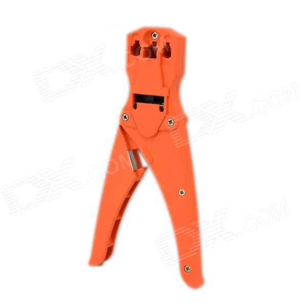 Multi-function Telephone Tool Crimp Pliers for 4/4.6/6 and 8/8 Modular Plug - Orange lodestar l21376e professional network telephone plug crimping tool pliers yellow black