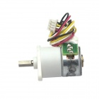 5V Micro Angle & High Torque 15MM 2-Phase 4-Wire Stepper Gear Motor - White