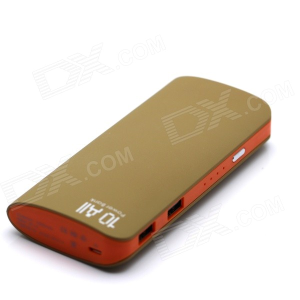 C0114  High Capacity Universal 5V 12000mAh Li-ion Battery Dual USB Power Bank w/ LED Indicator