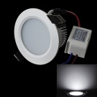 JIAWEN 5W 450LM 6000K 10 x 5630 SMD LED White Ceiling Light (AC 100-240V)