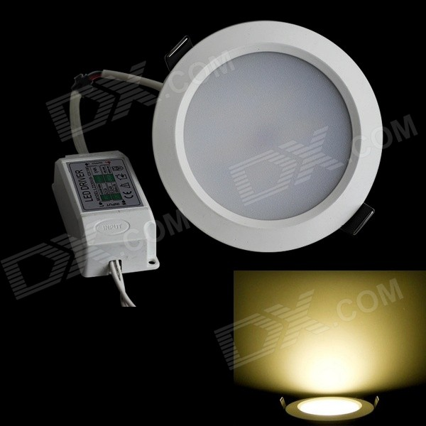 JIAWEN 9W 810LM 3000K 18 x 5630 SMD LED Warm White Ceiling Light (AC 100-240V) kinfire circular 6w 420lm 6500k 30 x smd 3528 led white light ceiling lamp w driver ac 85 265v