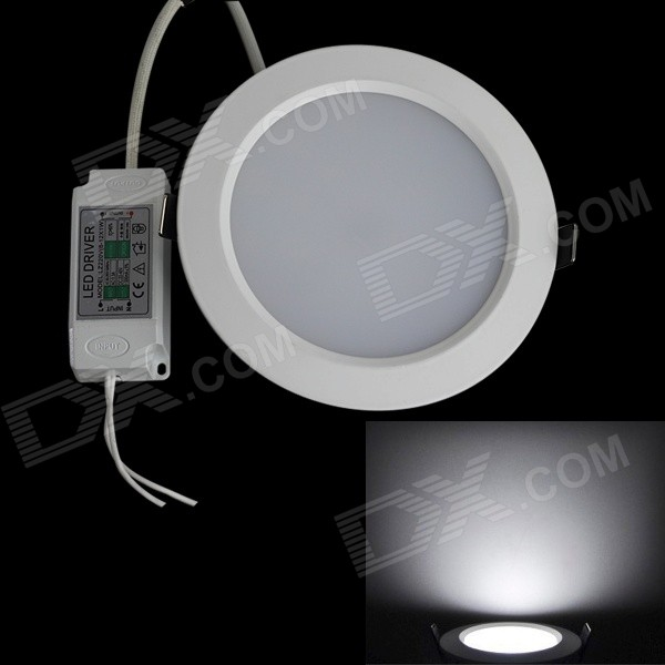 JIAWEN 15W 1350LM 6000K 30 x 5630 SMD LED White Ceiling Light (AC 100-240V) kinfire circular 6w 420lm 6500k 30 x smd 3528 led white light ceiling lamp w driver ac 85 265v