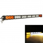 MZ 210W 16800LM White + Yellow Beam LED Worklight Bar Driving Lamp for Offroad 4WD SUV