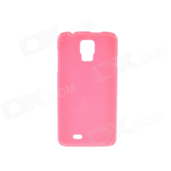 Protective PVC Plastic Back Case for DOOGEE DG310 - Deep Pink protective pvc plastic back case for doogee dg310 deep pink