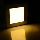12W 720lm 3000K 40-SMD 2835 LED Warm White Square Ceiling Panel Light