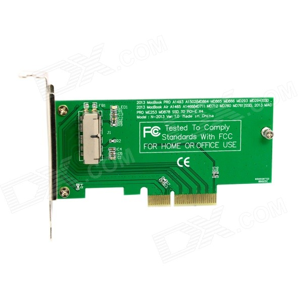 CY SA-144 Express PCI-E to 2013 APPLE MACBOOK PRO / AIR SSD Convert Card for A1493 / A1502 + More lmdtk new laptop battery for apple macbook pro retina13 inch a1502 2013 2014 year a1493