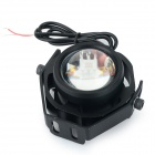 JRLED JRLED-10W-12 Водонепроницаемый 10W 300lm 470nm LED Blue Light Mini Spotlight - черный (AC / DC 12V)