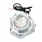 JRLED JRLED-10W-12V impermeable 530 nm 10W 400lm LED Luz Verde Mini Spotlight - Plata (AC / DC 12V)