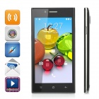 "MG7 4.5"" Android 4.4.3 Single-Core WCDMA + GSM 3G Phone w/ Dual-SIM, Dual Standby - Black + Silver"