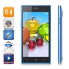 "MG7 4.5"" Android 4.4.3 Single-Core WCDMA + GSM 3G Phone w/ Dual-SIM, Dual Standby - Blue"