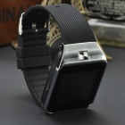 "M9 1,54 ""dotykový displej Inteligentní GSM Watch Phone w / Bluetooth, TF - Black + Silver"