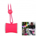 DOSS DS-1159 Waist Drum Shaped Portable Outdoor Wearable Wireless Bluetooth Speaker w/ TF - Pink
