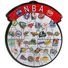 NBA Metal Brooches Souvenir Set (31-Piece Set)