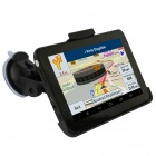 "Q200 7 ""kapazitiver Schirm HD Android 4.4.2 Auto GPS-Navigation Tablet w / WiFi / FM / Built-in 8GB - Schwarz"