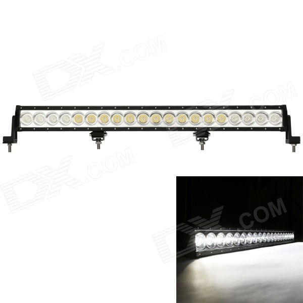 MZ 32 200W 16000LM 6000K 20-LED Flood + Spot White Beam Worklight Bar Offroad 4WD SUV Driving Lamp