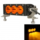 MZ 30W 2400lm Spot Yellow Beam LED Worklight Bar Offroad 4WD SUV Driving Lamp