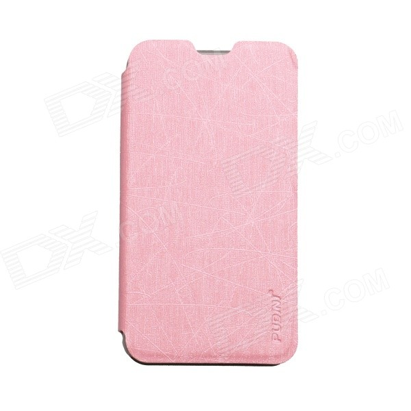 все цены на PUDINI WB-530 Protective Flip Open PU + PC Case w/ Stand for Nokia Lumia 530 - Pink онлайн