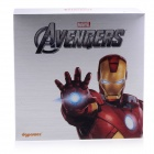 Dgpower Iron Man univerzální Dual USB 6000mAh Li-Po Portable Power Bank w / Indicator - červený + Golden