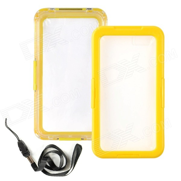 Waterproof Drop Protective Plastic + Silicone Shell Case for IPHONE 6 PLUS 5.5 - Yellow iface mall for iphone 6 plus 6s plus glossy pc non slip tpu shell case black