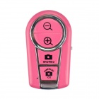 Angibabe abc123 Fokus einstellbar Bluetooth Remote Control / Shutter - Pink (1 x CR2032)