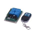ZnDiy-BRY DC12V 4CH Multi-functional Wireless Controller + 4 Buttons Remote Control
