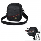 Multifunctional Casual Cycling Bike Handlebar Top Tube Bag / Messenger Bag - Black