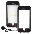 "Waterproof Case w/ Touch Screen / Fingerprint Key Function for IPHONE 6 4.7"" - Black"