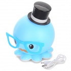 Creative Octopus Style USB Rechargeable LED Table Lamp - Blue