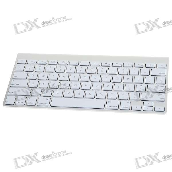 Genuino Teclado Apple 78-Key Wireless Bluetooth (2 * AA)