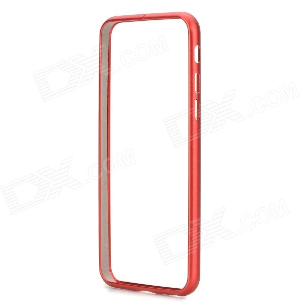 Protective Aluminum Alloy Bumper Frame Case for IPHONE 6 4.7 - Red tpu protective cover for apple watch 38mm transparent