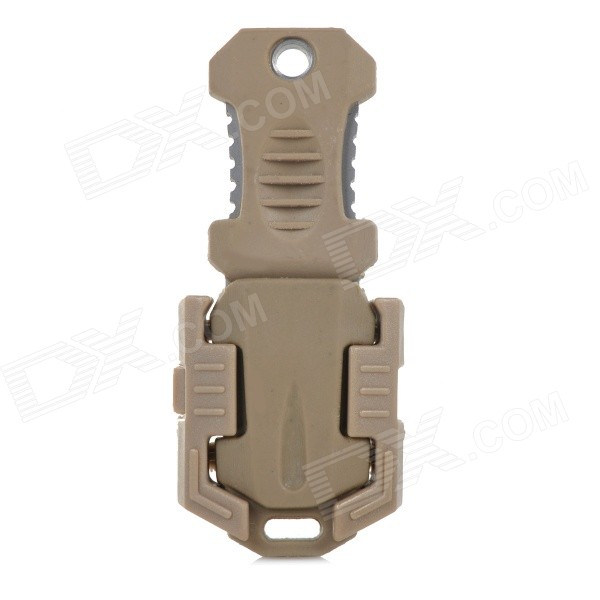 Buckle Pocket Shiv & Adapter for Outdoor Molle Woven Tape Webbing - Khaki rajat sareen shiv kumar sareen and ruchika jaswal non carious cervical lesions