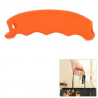 Silicone Handbag / Basket / Shopping Bag Easy Carrier Holder Handle Grip - Orange