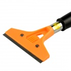 Multi-functional Cleaning Shovel Blade / Glass Floor Scraper - Orange + Black