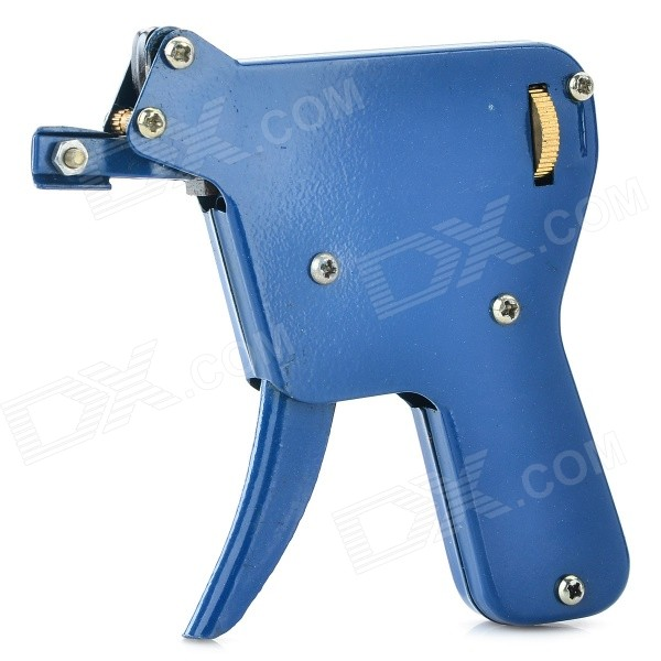 SDQ-JS-026-04 Stainless Steel Manual Pick Gun - Blue + Silver