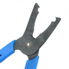 B502 Security Door Panel Removal Plier Tool - Black + Blue