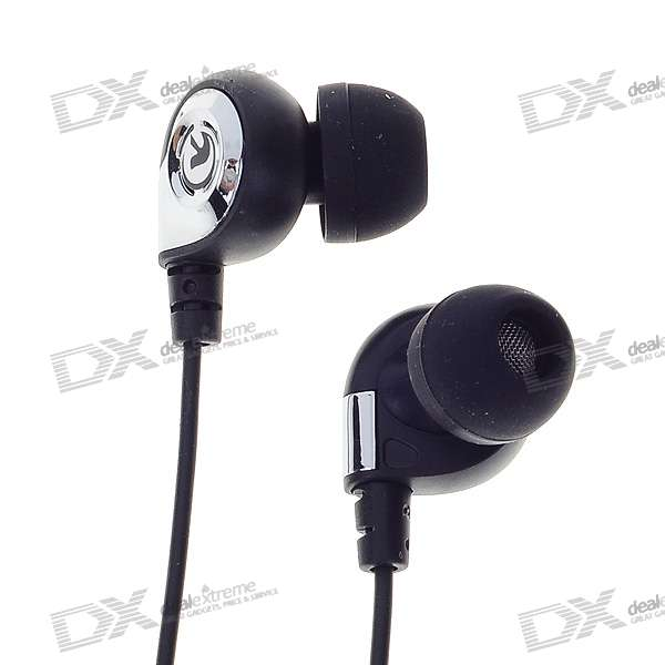 KM901 Noise Isolation In-Ear Earphone (3.5mm Jack/120cm Cable) fashion professional in ear earphones light blue black 3 5mm plug 120cm cable