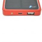 Itian Universal Solar Powered 4000mAh Li-po External Power Bank - Red
