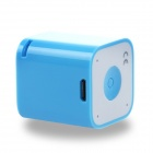 BT-STS05 Portable 2W Audio Bluetooth altavoz w / USB Micro anti-perdida & Self-timer - azul